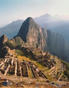 my view of Machu Picchu